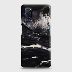 OPPO A92 Black Marble Case