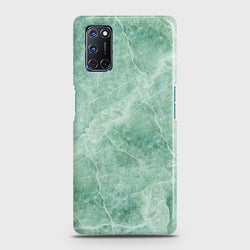 OPPO A92 Mint Green Marble Case