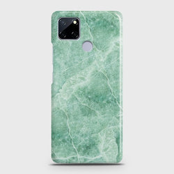 Realme C12 Mint Green Marble Case