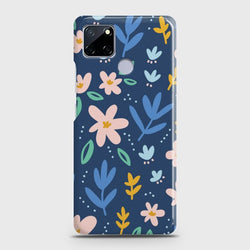 Realme C12 Colorful Flowers Case