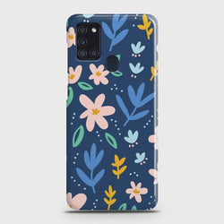 Samsung Galaxy A21s Colorful Flowers Case