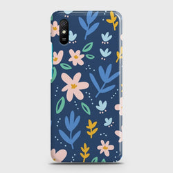 Xiaomi Redmi 9A Colorful Flowers Case