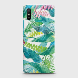 Xiaomi Redmi 9A Retro Palm Leaves Case