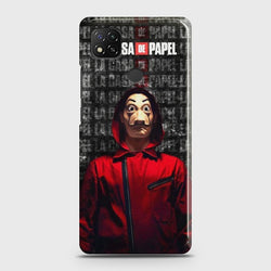Xiaomi Redmi 9C Money Heist Case