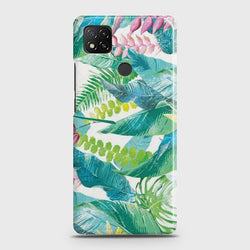 Xiaomi Redmi 9C Retro Palm Leaves Case