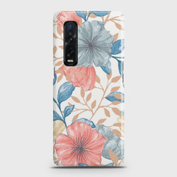 Oppo Find X2 Pro Seamless Flower Case