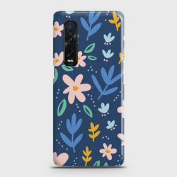 Oppo Find X2 Pro Colorful Flowers Case