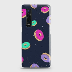 Oppo Find X2 Pro Colorful Donuts Case