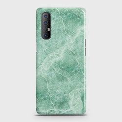 Oppo Reno 3 Pro Mint Green Marble Case