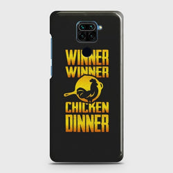 Xiaomi Redmi Note 9 PUBG Chicken Dinner Case