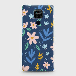 Xiaomi Redmi Note 9 Colorful Flowers Case