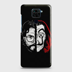 Xiaomi Redmi Note 9 MONEY HEIST PROFESSOR Case