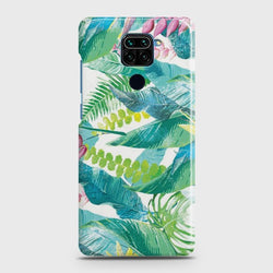 Xiaomi Redmi Note 9 Retro Palm Leaves Case
