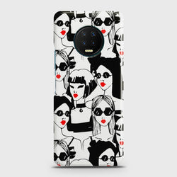 Infinix Note 7 Beautiful Girl Crown Sunglasses Case