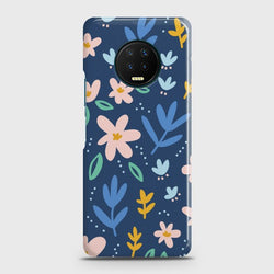 Infinix Note 7 Colorful Flowers Case