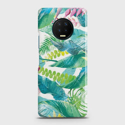 Infinix Note 7 Retro Palm Leaves Case
