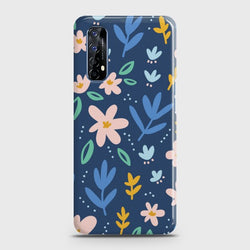 Realme 7 Colorful Flowers Case