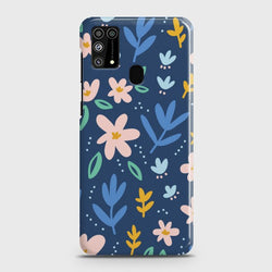 Samsung Galaxy M31 Colorful Flowers Case