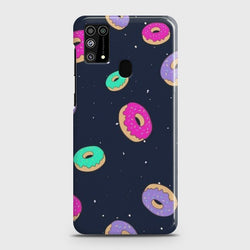 Samsung Galaxy M31 Colorful Donuts Case