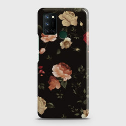 Realme C17 Dark Rose Vintage Flowers Case