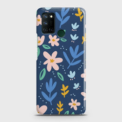 Realme C17 Colorful Flowers Case