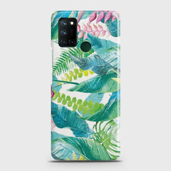 Realme C17 Retro Palm Leaves Case