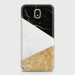 SAMSUNG GALAXY J3 PRO 2017 (J330) Gold Marble collage Case
