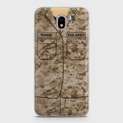 SAMSUNG GALAXY J3 PRO 2017 (J330) Army Costume With Custom Name Case