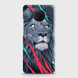 Xiaomi Redmi K30 Pro Zoom Abstract Animated Lion Case