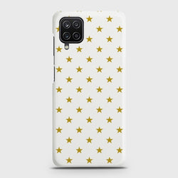 Galaxy A12 Tiny Golden Stars Case