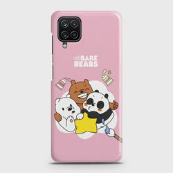 Galaxy A12 Cute Trendy Animated Character Case