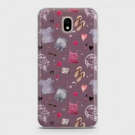 SAMSUNG GALAXY J7 PRO Casual Summer Fashion Design Case