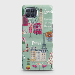OPPO A73 London, Paris, New york Case