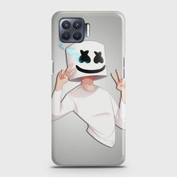 OPPO A73 Marshmello Face Case