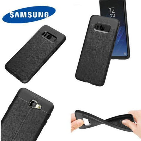Carbon Leather TPU Protective Case Samsung - Phonecase.PK