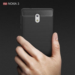 CARBON WIRE-DRAWING CASE NOKIA All Models - Phonecase.PK