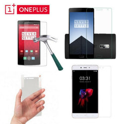Clear Tempered Glass 9H OnePlus 1, OnePlus 2 and OnePlus X - Phonecase.PK