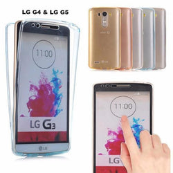 Front Back Full Body TPU Case 360 Degree protection LG G3,G4,G5, G6, LG K10 - Phonecase.PK