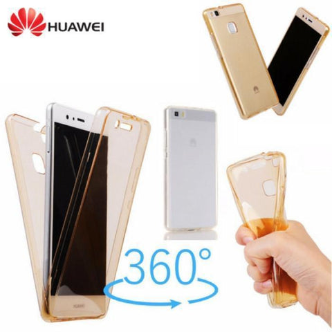 Front Back Full Body TPU Case For Huawei All Models - Phonecase.PK