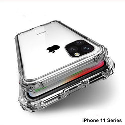 Anti Crash Shock Proof Anti-Knock Transparent Case iPhone 11 Series