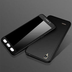Full Protective Front+Back+Free Glass 360 Degree case Vivo All Models - Phonecase.PK