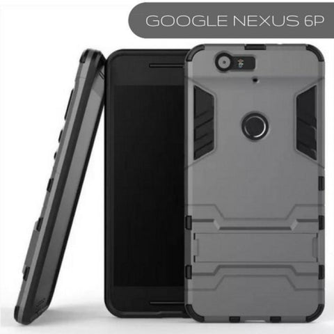 GOOGLE NEXUS 6P IRON MAN CASE DUAL PROTECTION - Phonecase.PK