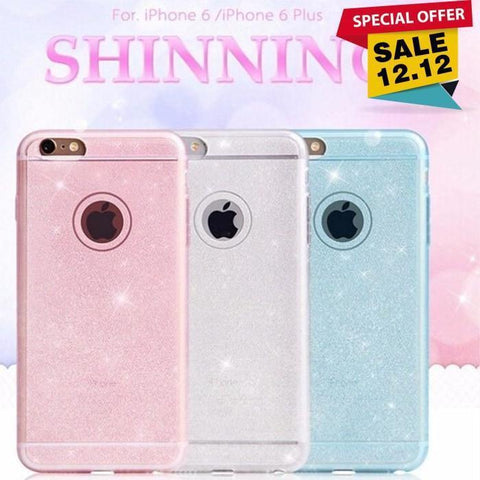High Quality Shiny Soft Silicone Case For Iphone - Phonecase.PK