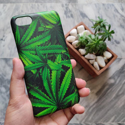 Huawei Honor 7S Green Leaves Phone Case - C013