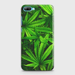 Huawei Honor 10 Green Leaves Phone Case - Phonecase.PK