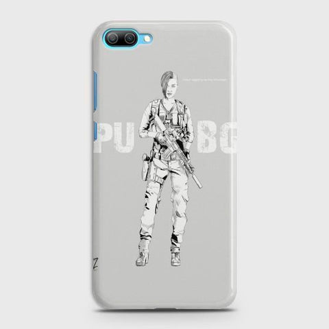Huawei Honor 10 PUBG Lady Warrior Phone Case - Phonecase.PK