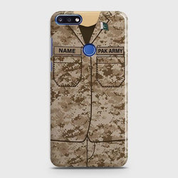 Huawei Honor 8A Army shirt with Custom Name Case - Phonecase.PK