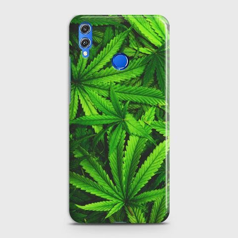 Huawei Honor 8x Green Leaves Phone Case - Phonecase.PK