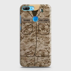 Huawei Honor 9 Lite Army shirt with Custom Name Case - Phonecase.PK