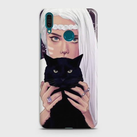 Huawei Honor Play Wild Black Cat Phone Case